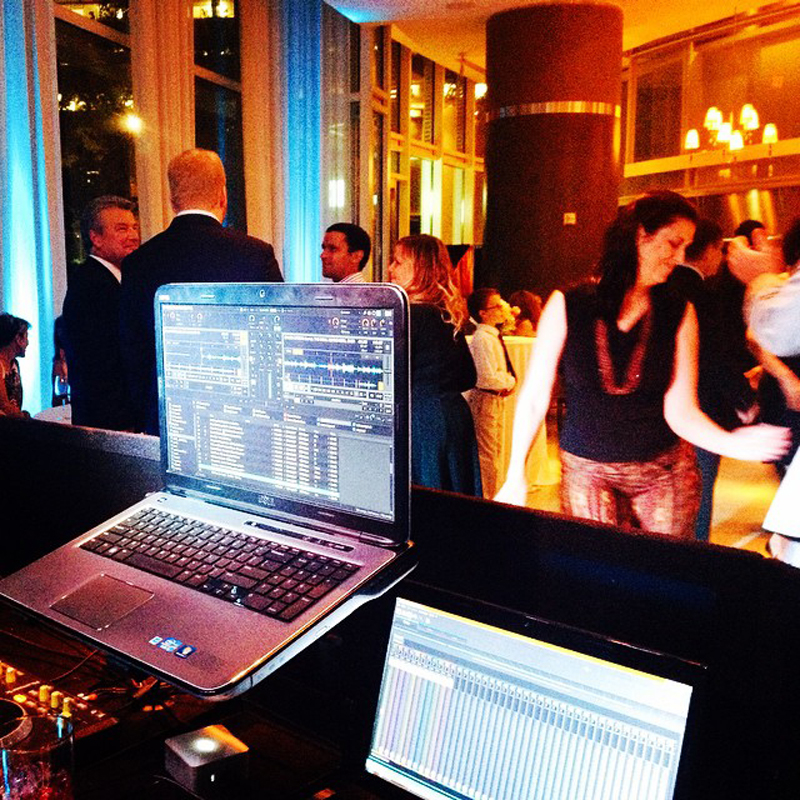 Olmsted Atlanta Wedding Sound and Light - Dj Cuttlefish 1