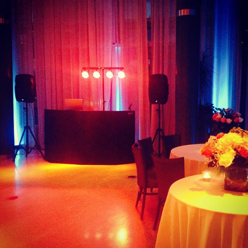 Olmsted Atlanta Wedding Sound and Light - Dj Cuttlefish 2